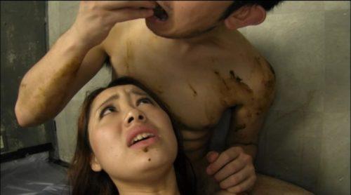 キ●ガイ美人 糞喰い女 正真正銘本物ウンコ 星川麻美-13